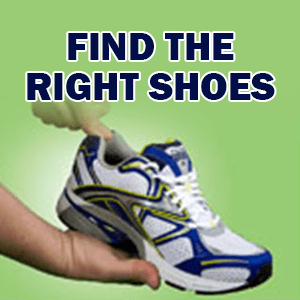 Find The Right Shoes