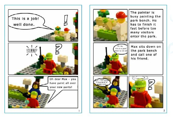 Story Telling STEM camp example