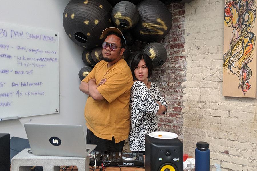 two DJs
