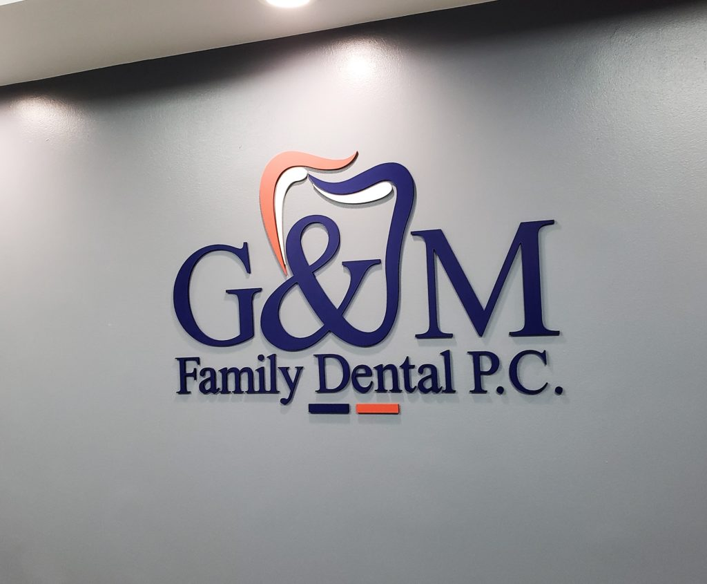 Lobby signs for dental offices in Westchester County NY