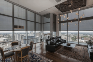 Manual And Motorized Roller Shades