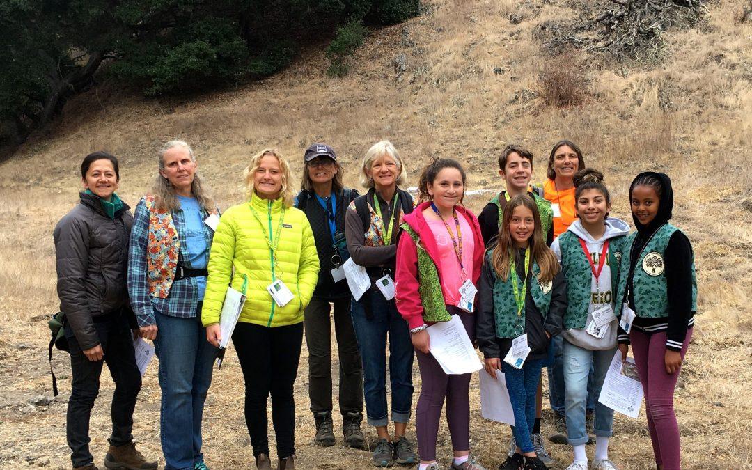 Oak Ambassadors shine at the Pismo Preserve!