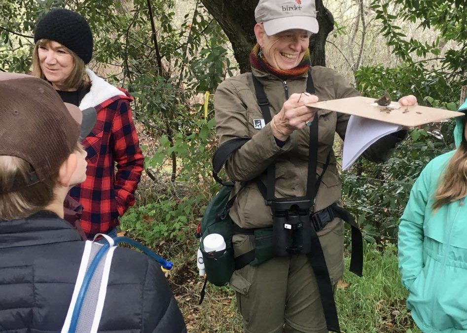 Oak Ambassadors go birding with Audubon guides!