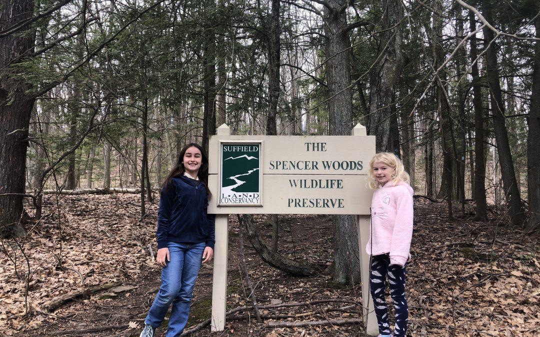 Vineyard School Oak Ambassador appreciates land conservancy work!