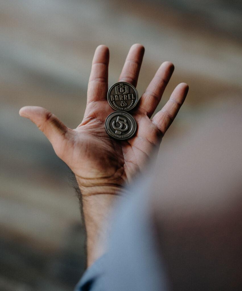Bootlegger Club Challenge Coins