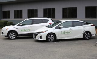 Adviro company cars are used to service commercial, public works and residential properties across the SF Bay Area and Northern California.