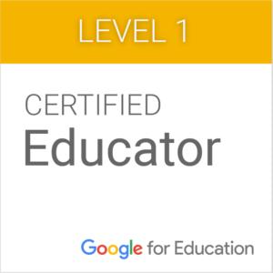 Google Educator Certification