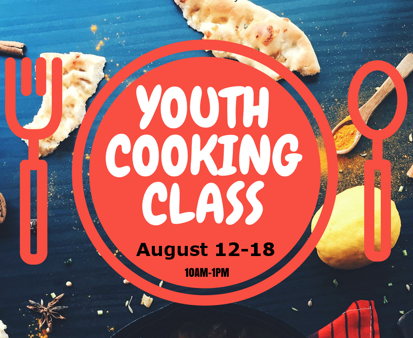 We're Having a cooking class! Web2019