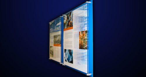 Acrylic / Plex interior building signage