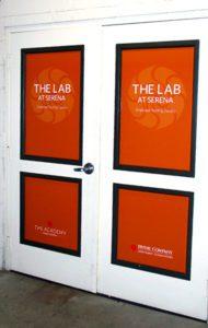 Irvine Co Door Graphics