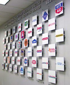 Niagara Custom Wall Display