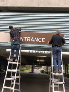 Experian Signage Installation