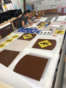Experian Signage Production