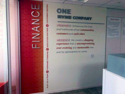 Irvine Co Custom Wall