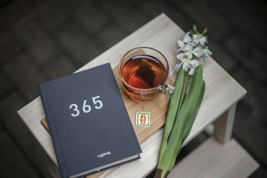 Photo of book with 365