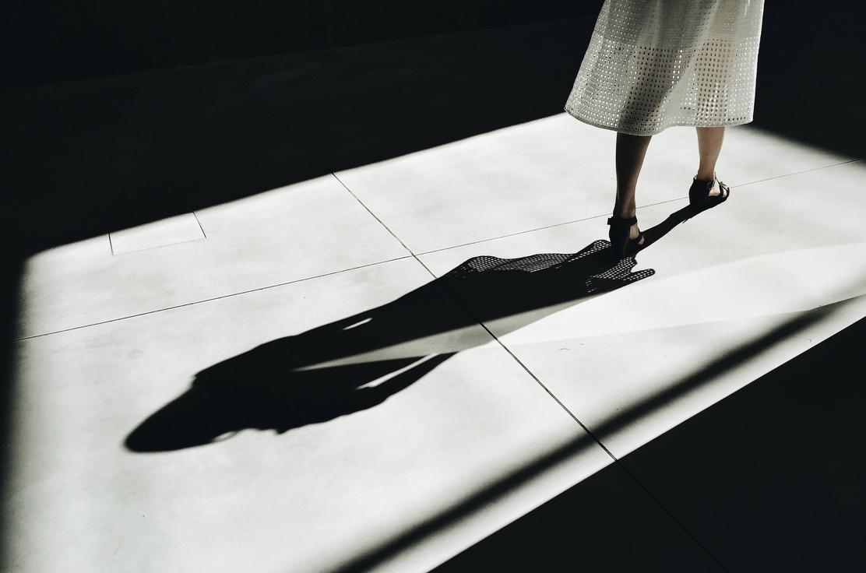 Photo of woman walking