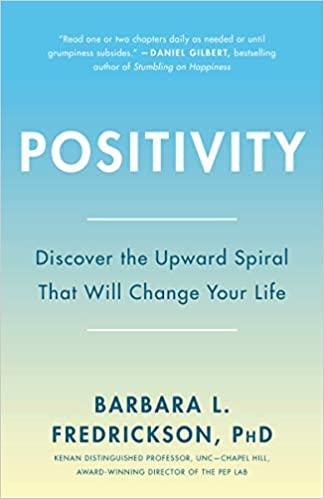 Book: Positivity by Barbara Fredrickson