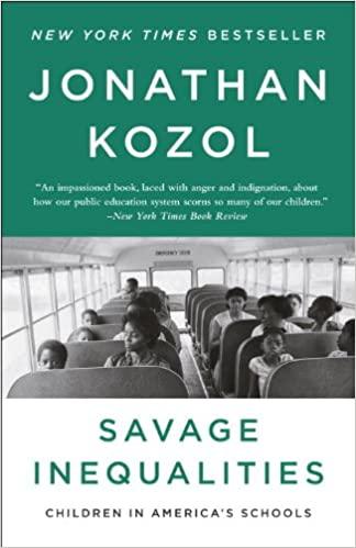 Book: Savage Inequalities by Jonathan Kozol