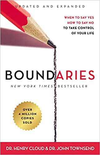 Book: Boundaries by Henry Cloud and John Townsend