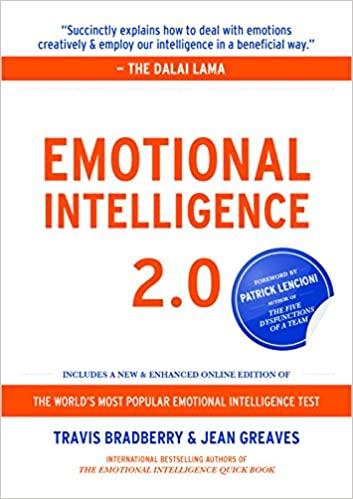 Book: Emotional Intelligence 2.0 by Travis Bradberry & Jean Greaves