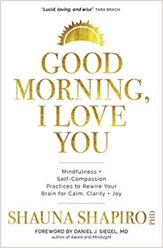 Book: Good Morning, I Love You by Shauna Shapiro