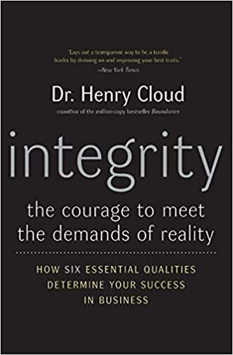 Book: Integrity by Dr. Henry Cloud