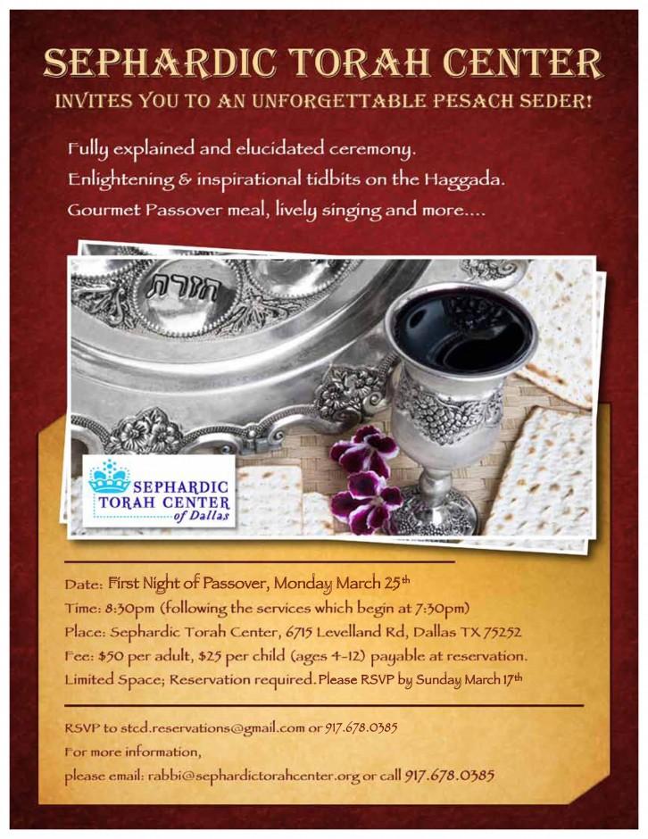 sephardic passover