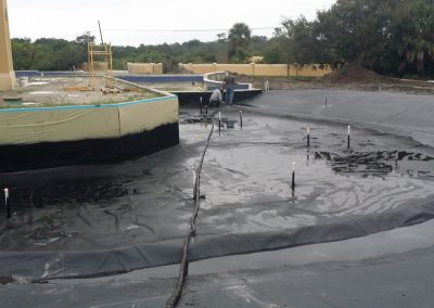 Polyurea Geotextile Lining Systems