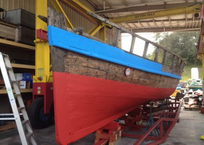 Polyurea Coatings - Viking Boat