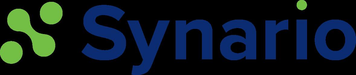 Synario logo blue