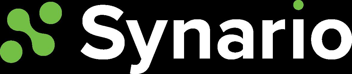 Synario logo white
