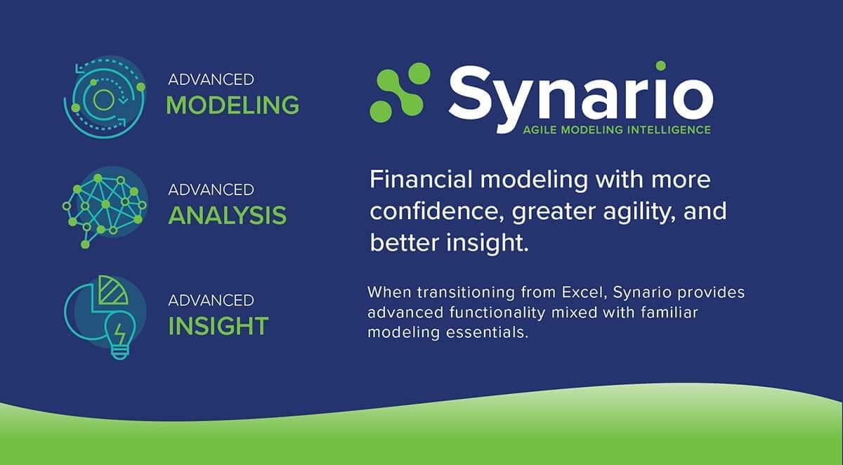Synario financial modeling software