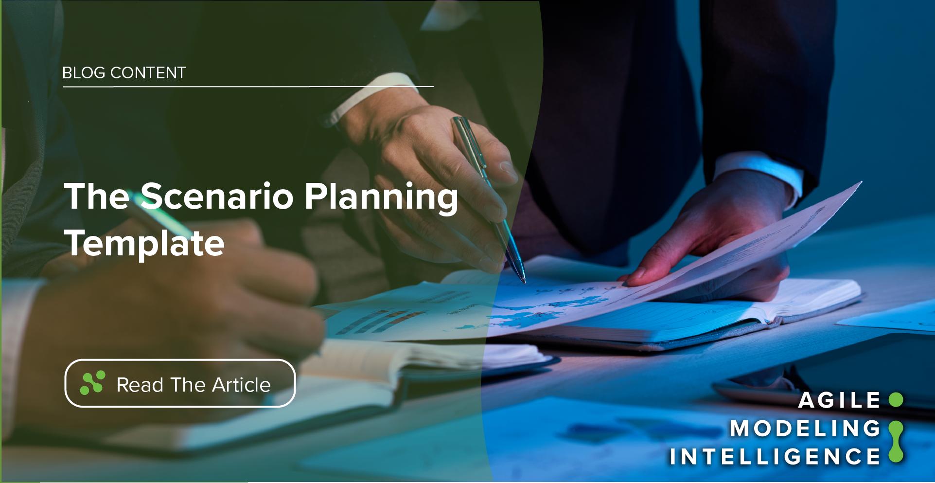 The Scenario Planning Template