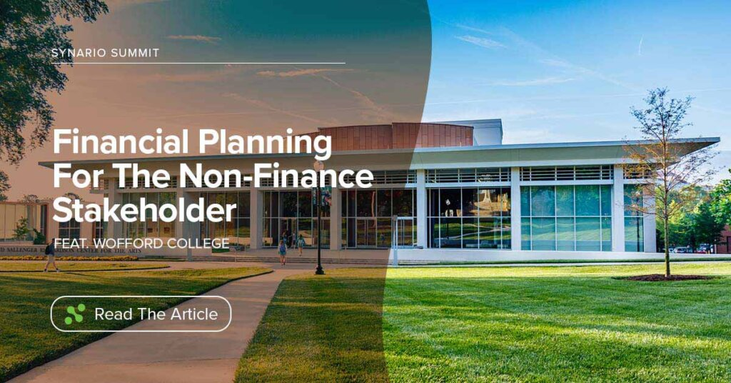 Financial Planning for the Non-Finance Stakeholder