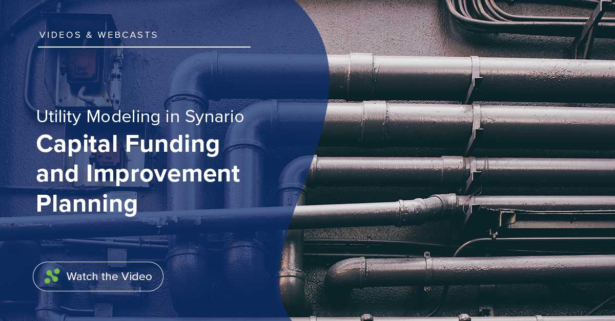Capital Funding & Improvement Planning – Utility Modeling Series