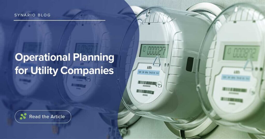 Operational Planning – Utility Modeling Series