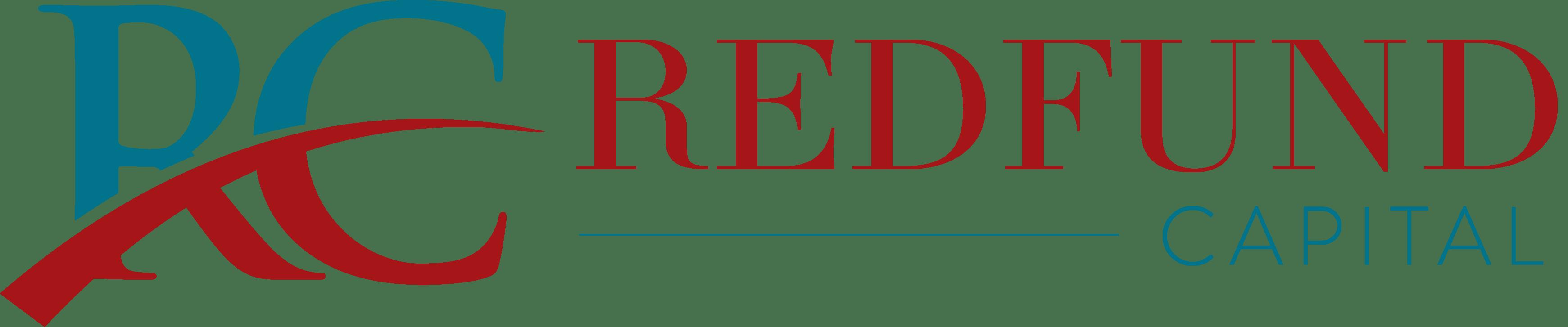 Redfund logo Long