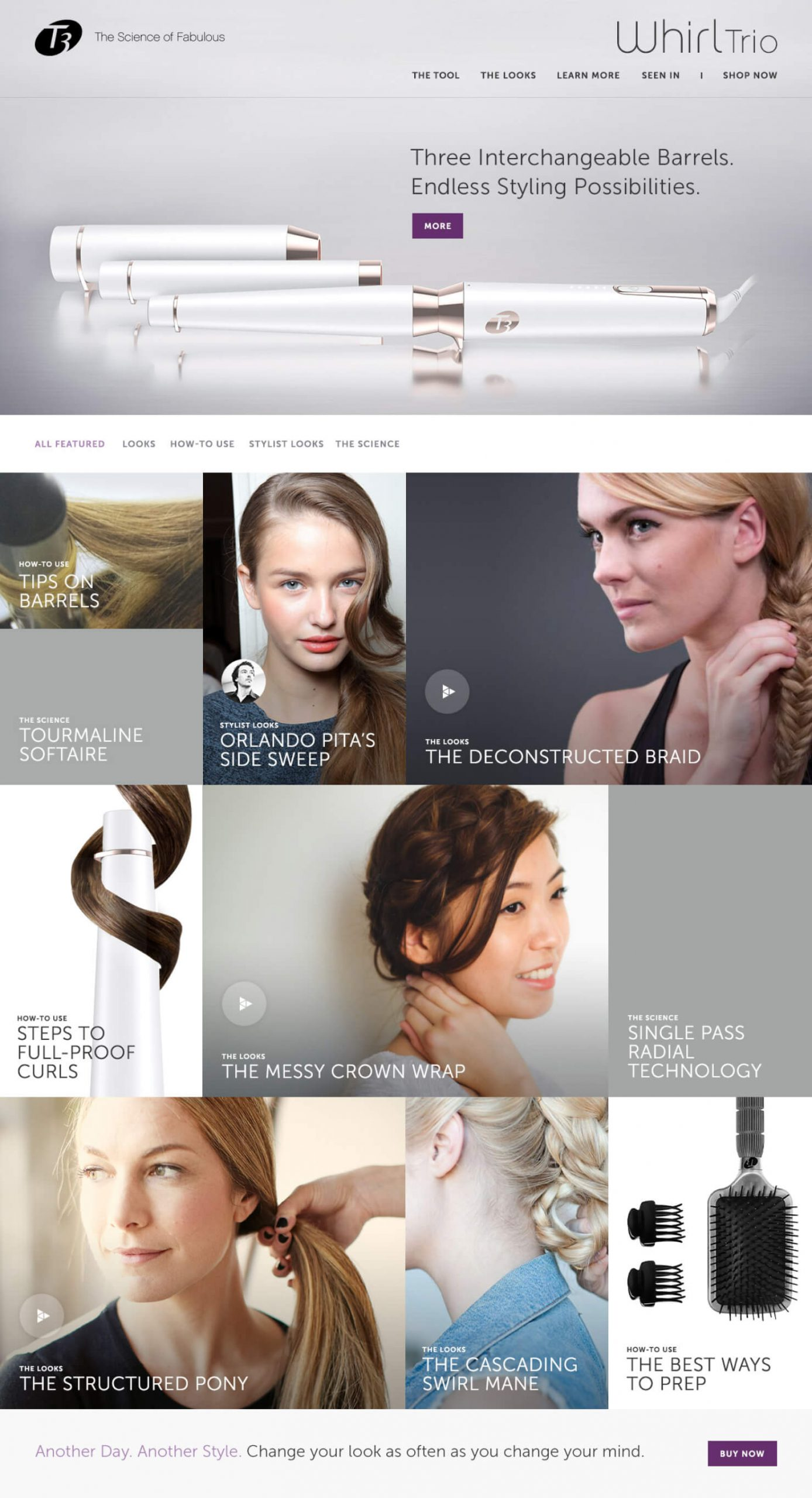 eCommerce & Microsite Design