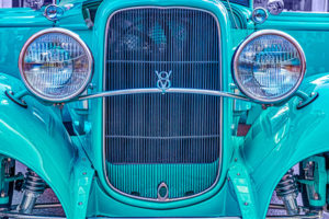 classic, car, automobile, Ford, grill, 1936, V8