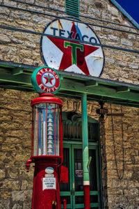 Texaco, Texas, gas, gasoline, vintage, signage, ethyl