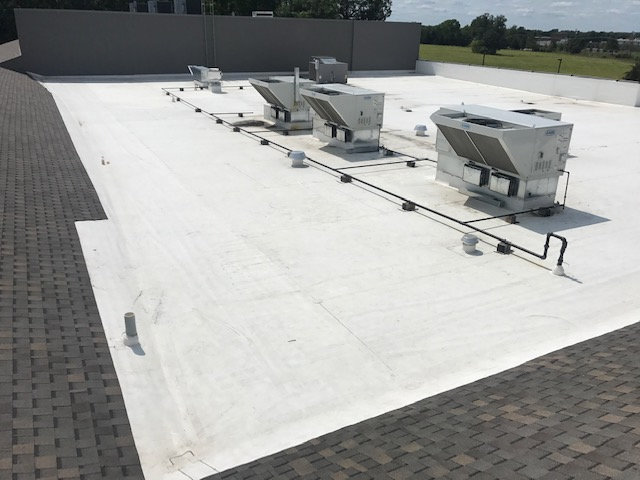 Church Roof Replacement - Commercial Roofing 2