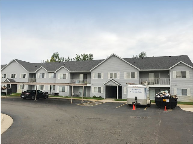 Lake Fenton Apartment Roof Replacement 1a
