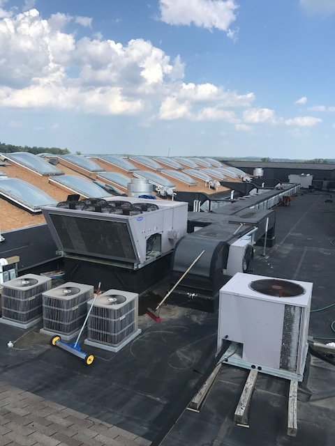 Office Building Roof Replacement Preparation Grand Blanc