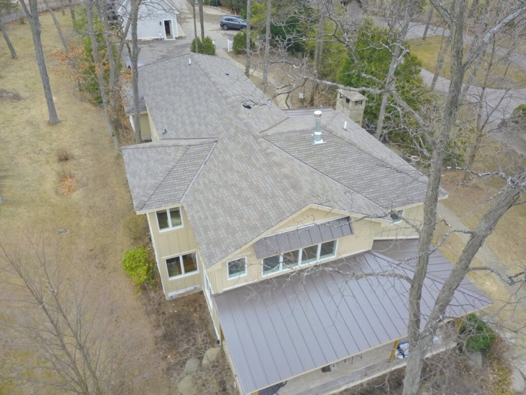 Drone Roofing Inspection for Smart Estimate