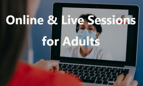 Online and Live Session for Adults 1
