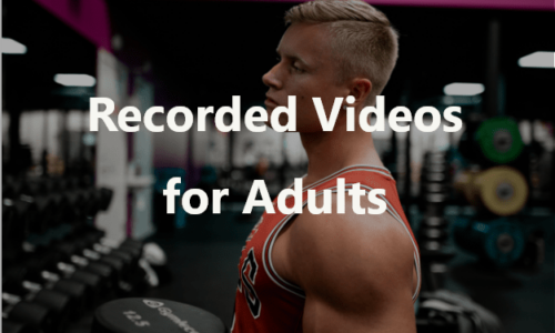 Recorded Videos For Adults 1