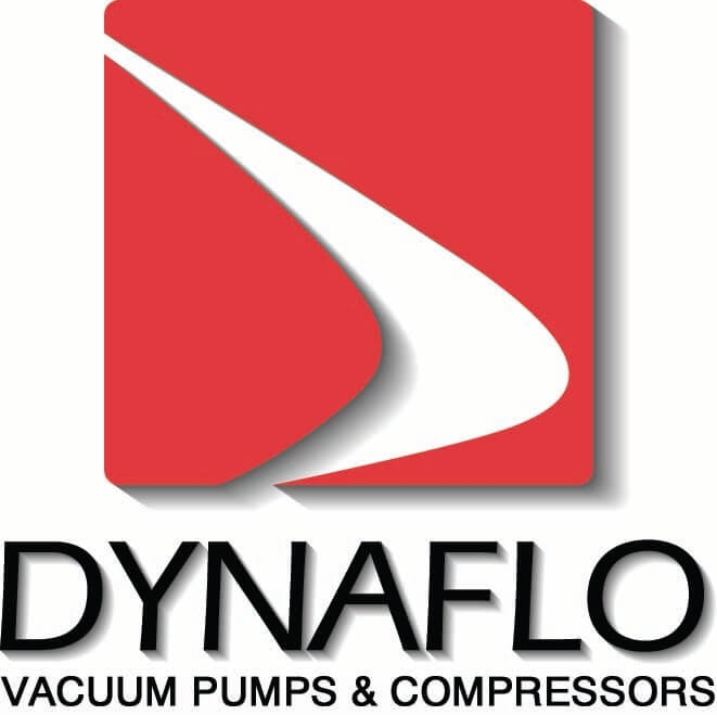 Dynaflo custom OEM vacuum pumps and compressors logo