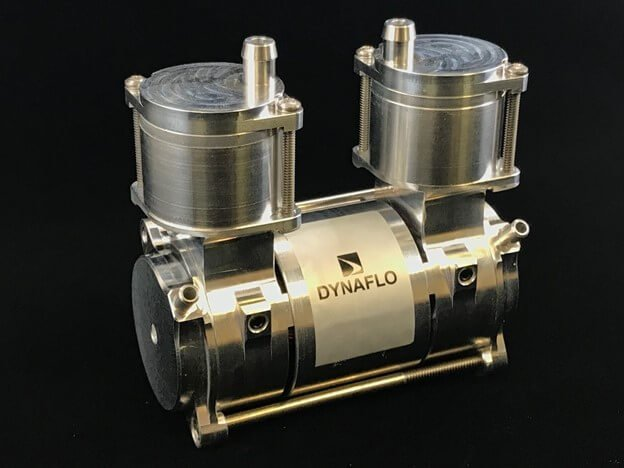 Dynaflo's 7000 Series wobble piston compressor