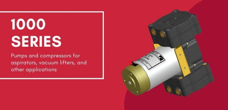 Dynaflo's 1000 Series vacuum pumps and compressors are used for everything from vacuum lifting to aspirators.