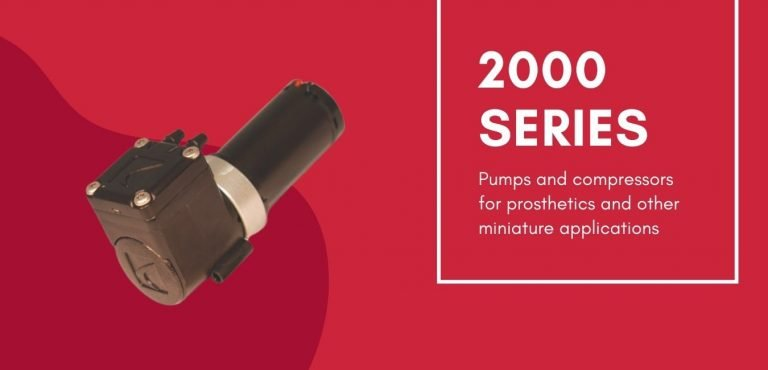 Dynaflo's 2000 Series miniature diaphragm pump is a small displacement pump used for medical applications.